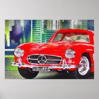 Artworks by Jean Louis Glineur: Talk 300 SL Poster