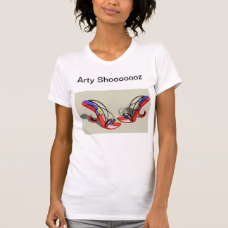 arty designer shoes tees