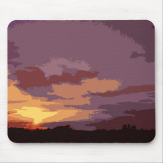 Arty mix Sunset mouse pad