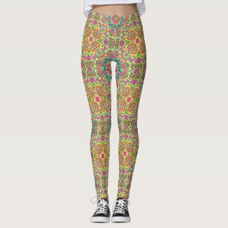Arty print leggings