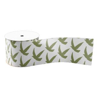 Arty ribbon bird grosgrain ribbon