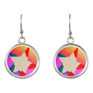 Arty Star Earrings