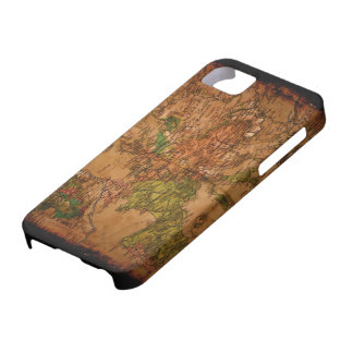 Arty Vintage Old World Map of Europe 1740 iPhone 5 Cases