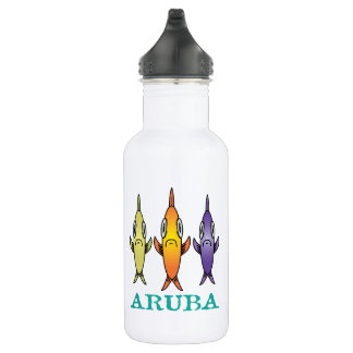 Aruba 3-Fishes 532 Ml Water Bottle