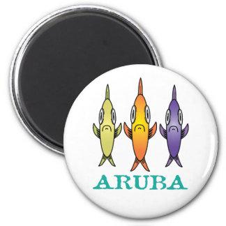 Aruba 3-Fishes Magnet