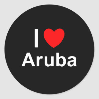 Aruba Classic Round Sticker