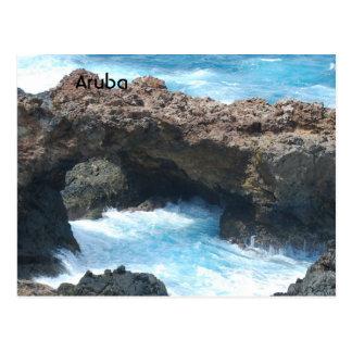 Aruba Coast Postcard