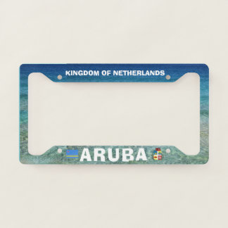 Aruba Custom License Plate Frame
