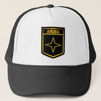 Aruba Emblem Trucker Hat