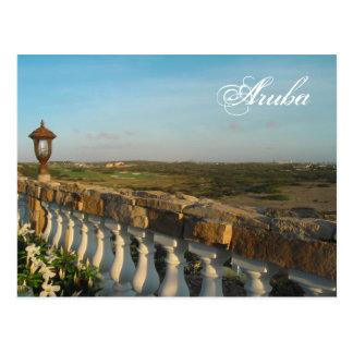 Aruba Evenings Postcard