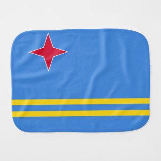 Aruba Flag Burp Cloth