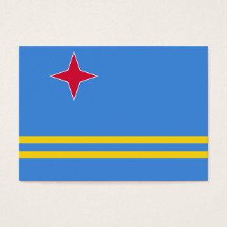 Aruba Flag Business Card