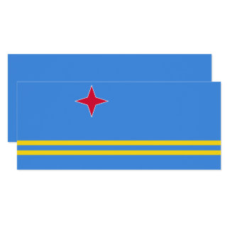 Aruba Flag Card