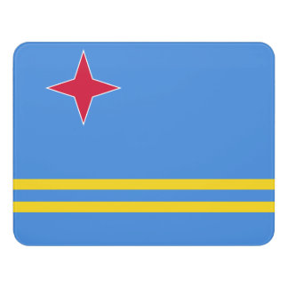 Aruba Flag Door Sign