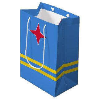 Aruba Flag Medium Gift Bag