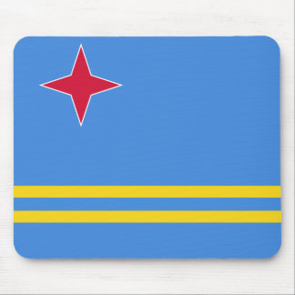 Aruba Flag Mouse Pad