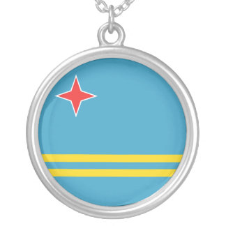 Aruba Flag Necklace