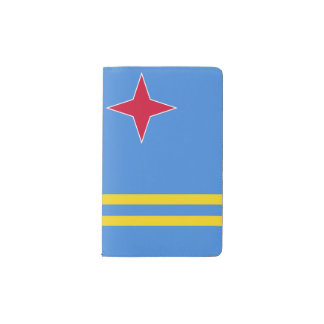 Aruba Flag Pocket Moleskine Notebook