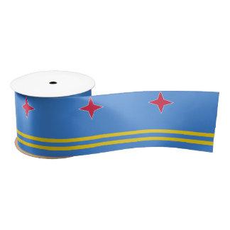 Aruba Flag Satin Ribbon