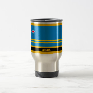 Aruba Flag Travel Mug