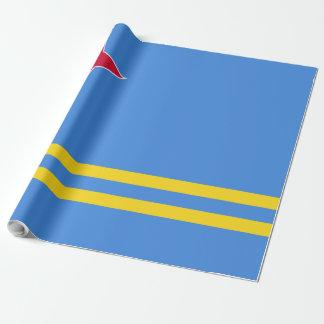 Aruba Flag Wrapping Paper