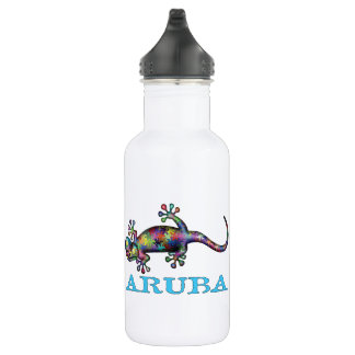 Aruba gecko 532 ml water bottle