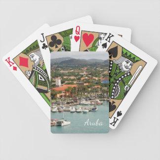 Aruba Marina Bicycle Playing Cards