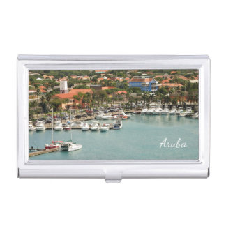 Aruba Marina Business Card Holder