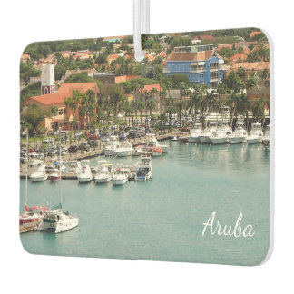 Aruba Marina Car Air Freshener