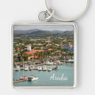 Aruba Marina Custom Key Ring