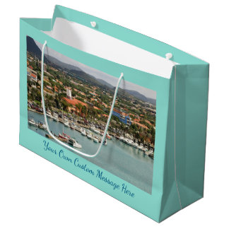 Aruba Marina Custom Large Gift Bag