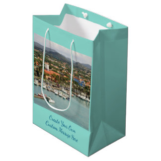 Aruba Marina Custom Medium Gift Bag