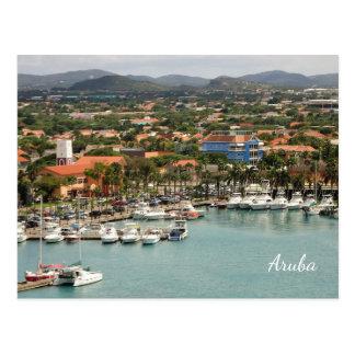 Aruba Marina Custom Postcard