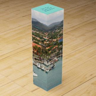 Aruba Marina Custom Wine Gift Box