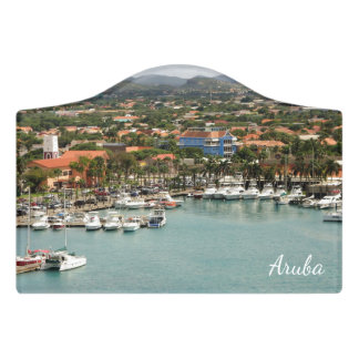Aruba Marina Door Sign