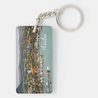 Aruba Marina Key Ring