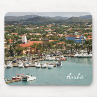 Aruba Marina Mouse Pad