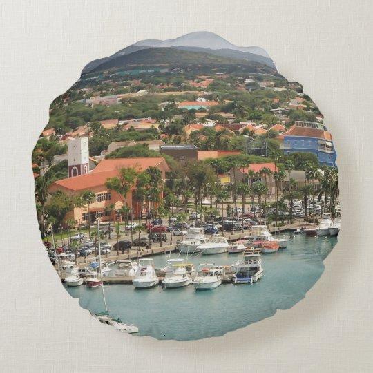 Aruba Marina Round Cushion
