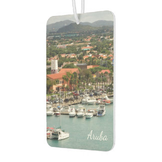 Aruba Marina Verticle Car Air Freshener