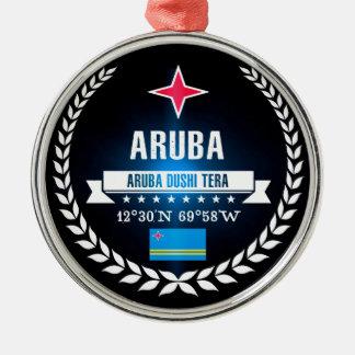 Aruba Metal Ornament