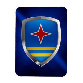 Aruba Mettalic Emblem Magnet