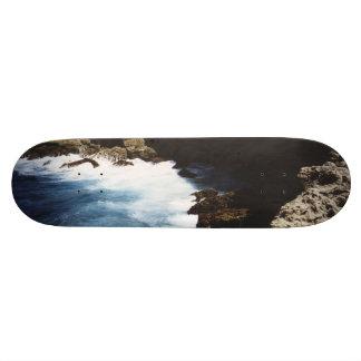 Aruba Ocean Crashing On The Rocks Skate Board Decks