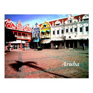 Aruba, Oranjestad Postcard