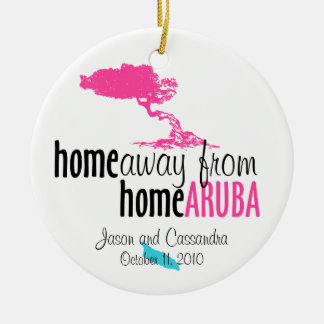 Aruba Ornament - home away from home
