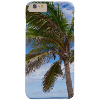 Aruba, palm tree on beach barely there iPhone 6 plus case