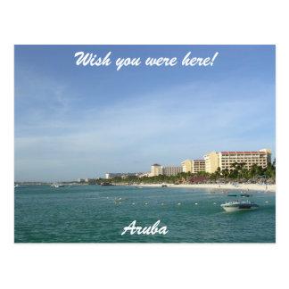 Aruba Paradise Postcard