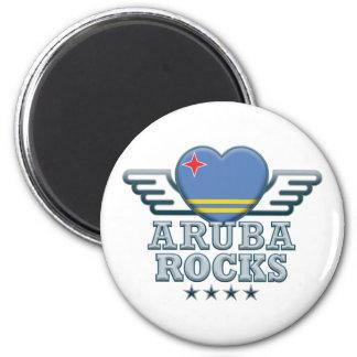Aruba Rocks v2 Magnet