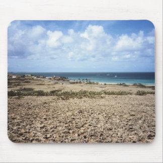Aruba Rocky Ocean View Mouse Pad