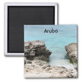 Aruba Shore Fridge Magnet