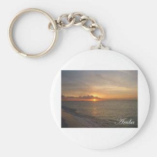 Aruba Sunset 2 Key Ring